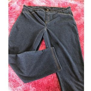 Hue Denim Leggings Size XL